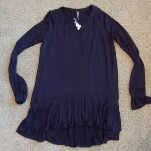 NWT Free People Long Sleeve Top, Small